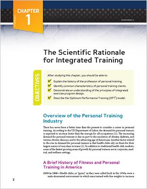 nasm personal training book pdf